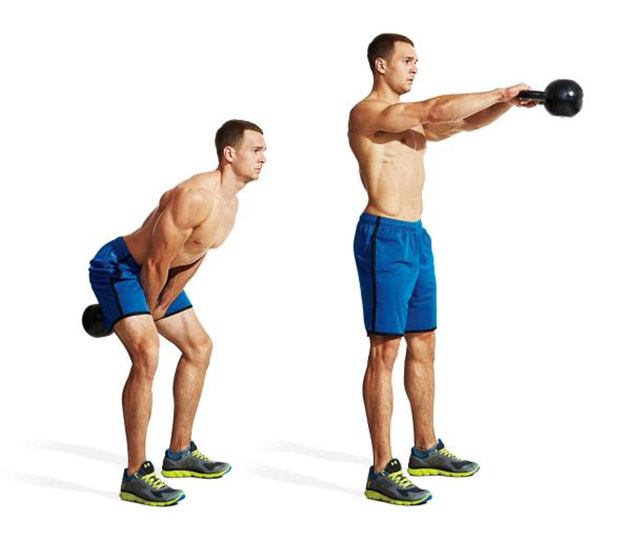 The 20 minute fat burning kettlebell complex