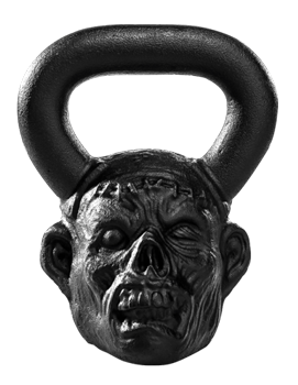 Onnit kettlebell Zombie Bell Staple head